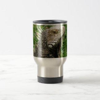 Aruban Lizard 15 Oz Stainless Steel Travel Mug