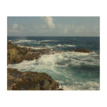 Aruba's Rocky Coast and Blue Ocean Wood Wall Decor