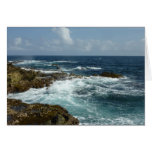 Aruba's Rocky Coast Card
