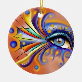 Arubissina V1 - fish eye Ceramic Ornament