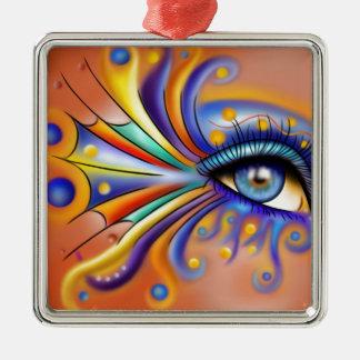 Arubissina V1 - fish eye Metal Ornament