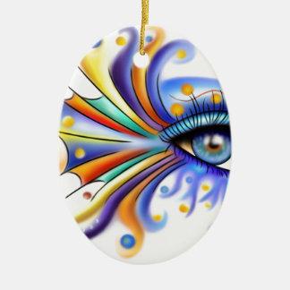 Arubissina V2 - fish eye Ceramic Ornament