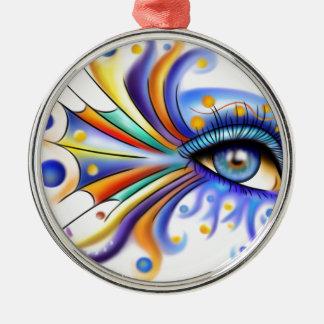 Arubissina V2 - fish eye Metal Ornament