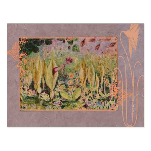 arum-elve salvaje tarjetas postales