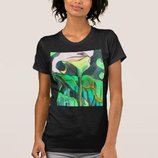 Arum Lily watercolor original art painting T-Shirt