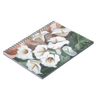 Arums bouquet note book