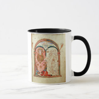 Arundel 155 f.133 Monks of Christchurch, Canterbur Mug
