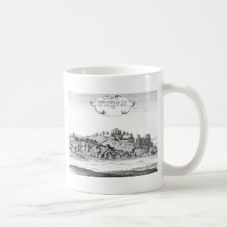 Arundel_Castle_and_town_1644 Coffee Mug