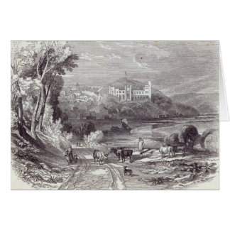 Arundel Castle and Town Card