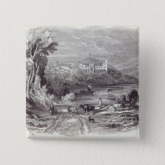 Arundel Castle and Town Pinback Button