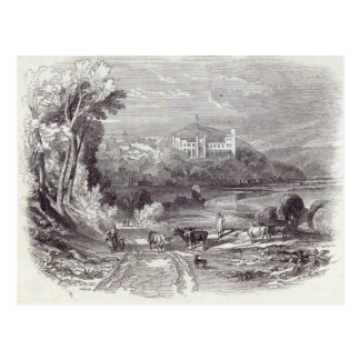 Arundel Castle and Town Postcard