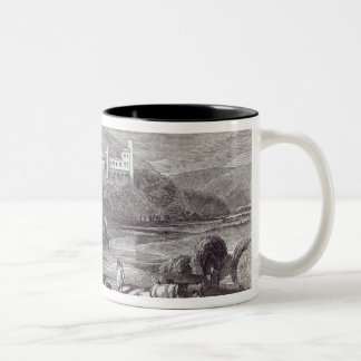 Arundel Castle and Town Two-Tone Coffee Mug