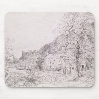 Arundel Mill and Castle, 1835 (drawing) Mouse Pad