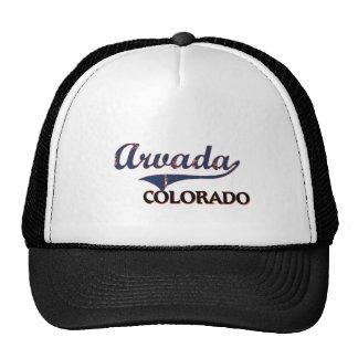 Arvada Colorado City Classic Hats