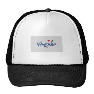 Arvada Colorado CO Shirt Mesh Hats