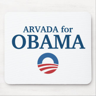 ARVADA for Obama custom your city personalized Mouse Pad