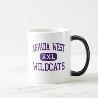 Arvada West - Wildcats - High - Arvada Colorado Coffee Mugs