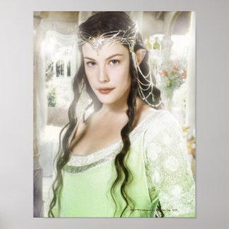 Arwen en Rivendell Poster