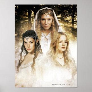 Arwen, Galadriel, Eowyn Poster