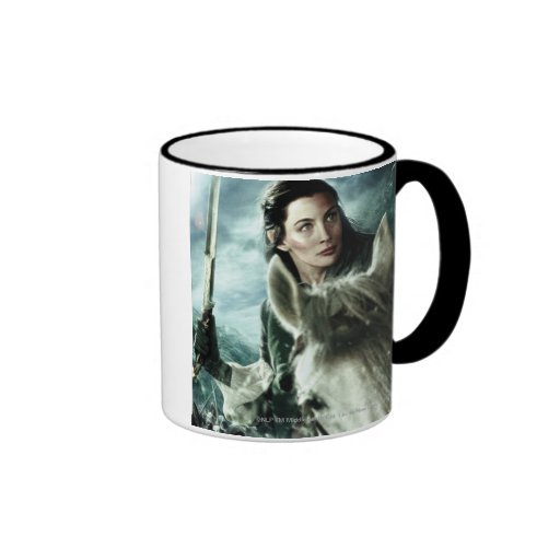 Arwen in Snow and Sword Coffee Mugs