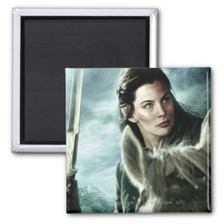 Arwen in Snow and Sword Fridge Magnets