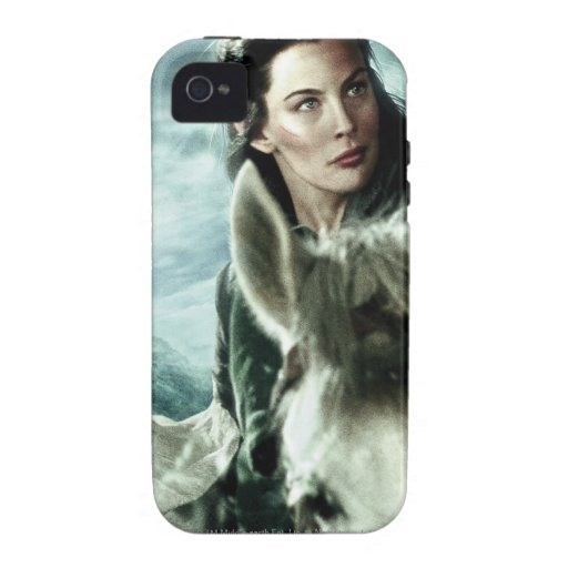 Arwen in Snow and Sword iPhone 4 Cover