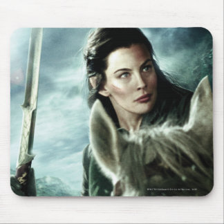 ARWEN™ in Snow and Sword Mouse Pad