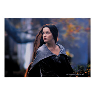 Arwen Looking Back Print