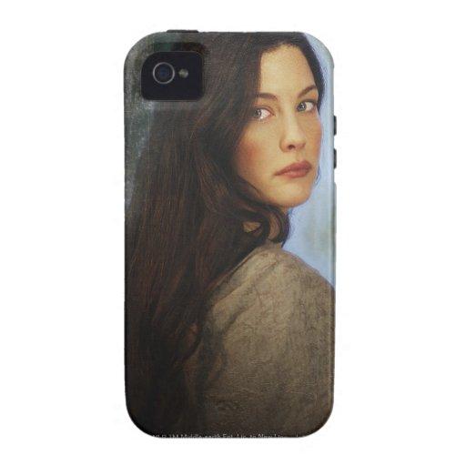 Arwen que da vuelta detrás funda iPhone 4