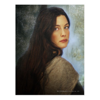 Arwen que da vuelta detrás postales