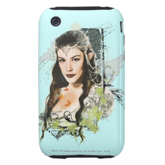 ARWEN™ Vector Collage iPhone 3 Tough Cover