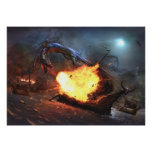 Arx Draconis Under Attack Posters