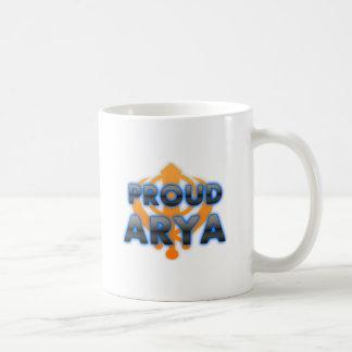 Arya orgulloso, orgullo de Arya Tazas De Café