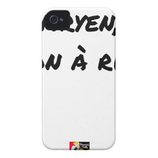 ARYAN, GOOD WITH NOTHING - Word games - François iPhone 4 Case