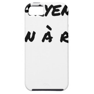 ARYAN, GOOD WITH NOTHING - Word games - François iPhone SE/5/5s Case