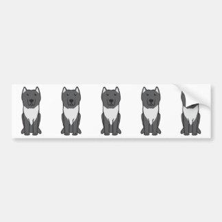 Aryan Molossus Dog Cartoon Bumper Sticker