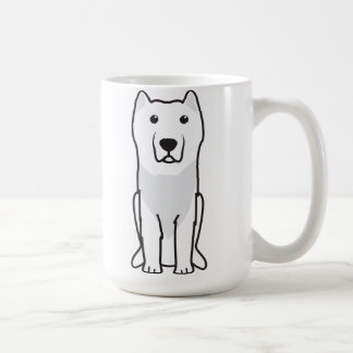 Aryan Molossus Dog Cartoon Coffee Mug