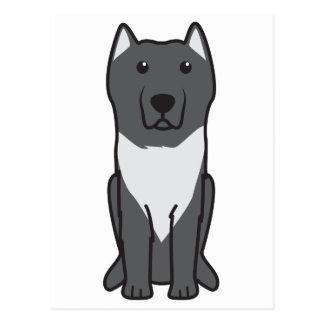 Aryan Molossus Dog Cartoon Postcard