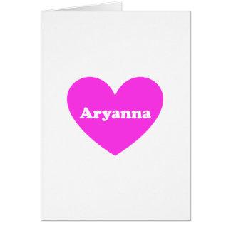 Aryanna Card