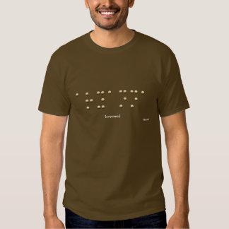 Aryanna in Braille T Shirt
