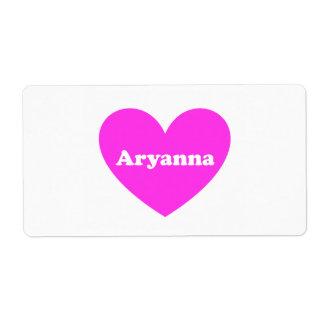 Aryanna Label