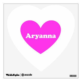 Aryanna Wall Sticker