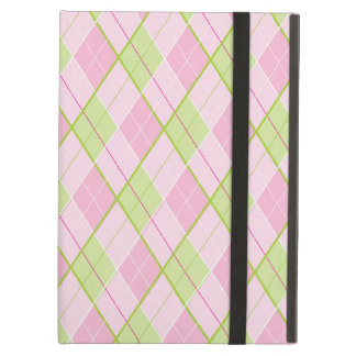 Arygle style patterned pink ipad powis case