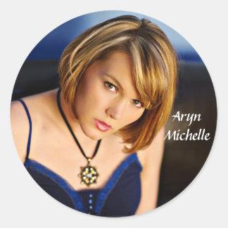 Aryn Michelle Close-Up Sticker