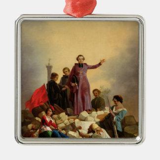 Arzobispo Affre en las barricadas 1848 Ornaments Para Arbol De Navidad