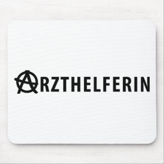 Arzthelferin icon mouse pads