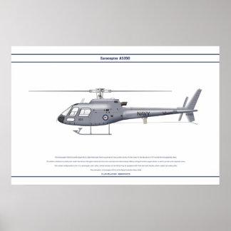 AS350 Australia Impresiones