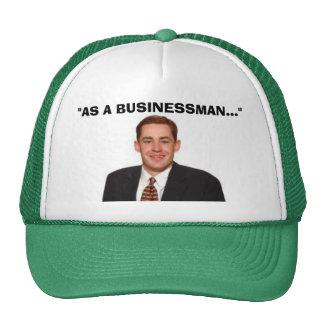 """""""AS A BUSINESSMAN"""" TRUCKER HAT"""