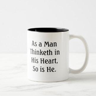 As a Man Thinketh Mug