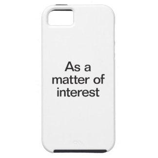 as a matter of interest iPhone SE/5/5s case